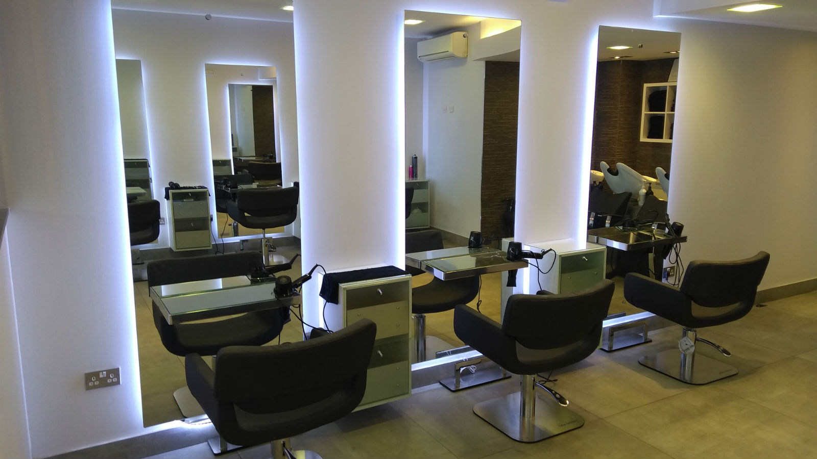 External photo of the salon